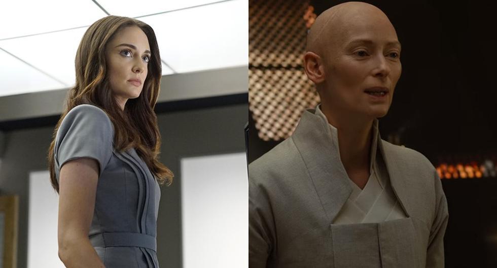 Marvel. A.I.D.A. (izq) y The Ancient One  (der.). (Foto: Difusión)