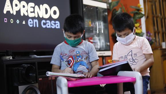 Aprendo en Casa es una estrategia de educación a distancia diseñada por el Minedu para garantizar la continuidad del servicio educativo durante la pandemia. (Foto: GEC)