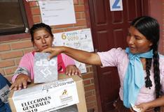Cómo serán las medidas de bioseguridad para el día de las elecciones en Bolivia