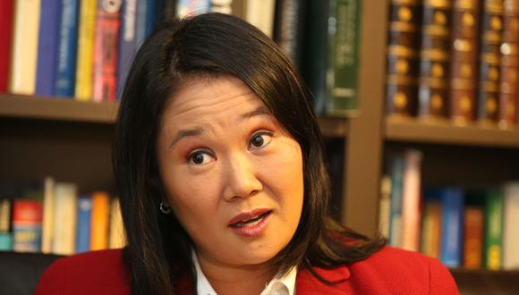 Keiko Fujimori fue la primera candidata en presentar formalmente una solicitud de inscripción de su plancha presidencial ante el Jurado Electoral Especial de Lima. (Foto: Grupo El Comercio)