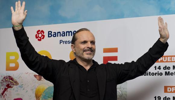El cantante español Miguel Bosé genera polémica sobre sus mensajes por el coronavirus. (Foto: Omar Torres / AFP)