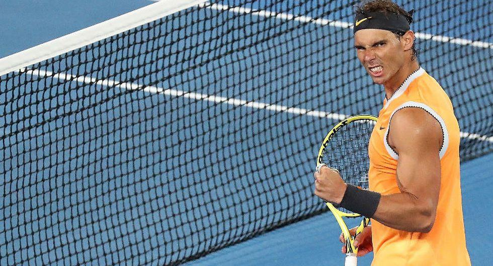 Rafael Nadal le ganó a Tiafoe y se clasificó a las semifinales del Australian Open. (Foto: EFE)