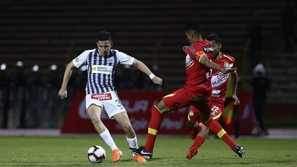 Alianza Lima ganó 3-0 a Sport Huancayo con doblete de Kevin Quevedo por la fecha 16° de la Liga 1. (Foto: Violeta Ayasta - GEC)
