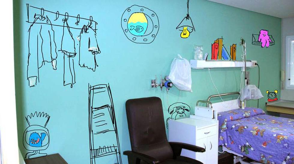 La hermosa transformación de pabellón de un hospital para niños - 3