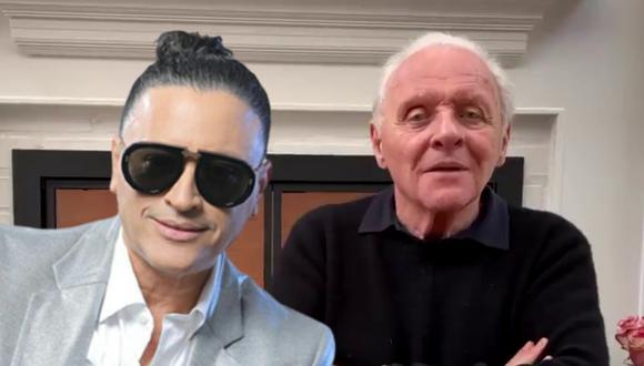Anthony Hopkins cautivó a millones de internautas en redes sociales al bailar un pegajoso tema de Elvis Crespo y expresar su 'colombianismo' a viva voz. | Crédito: @anthonyhopkins / @elviscrespolive / Instagram