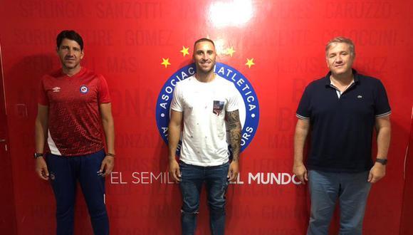 Herrera regresa a su país tras hacer historia en Sporting Cristal. (Foto: Argentinos Juniors)