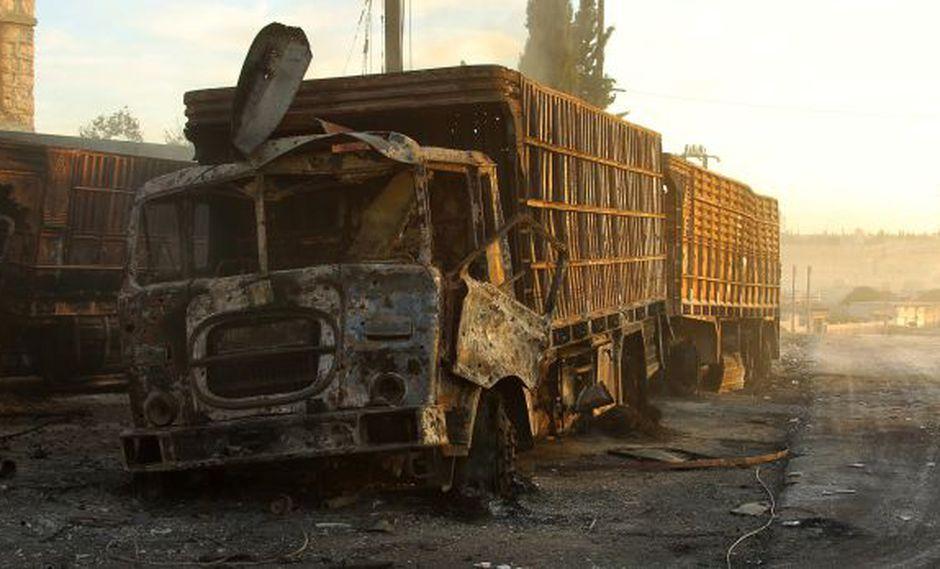 EE.UU. acusa a Rusia por ataque a convoy humanitario en Siria