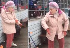 Abuelita baila al ritmo de Euryhtmics y sus curiosos pasos se vuelven sensación en las redes