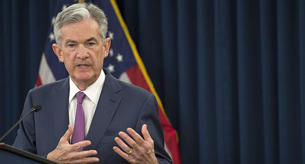 Jerome Powell, presidente de la FED. (Foto: AFP)