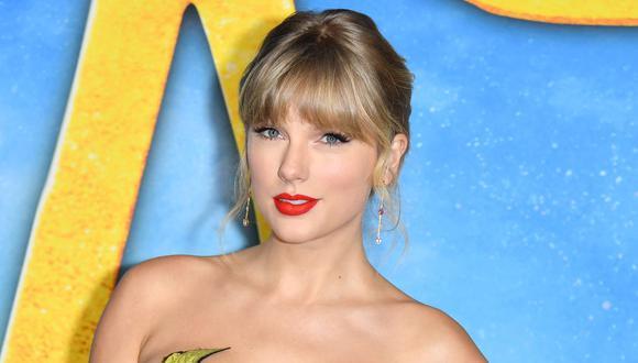 """Taylor Swift seguirá conquistando éxitos a nivel internacional gracias al lanzamiento de su nueva versión de """"Red"""". (Foto: ANGELA WEISS / AFP)"""