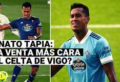 Renato Tapia puede convertirse en la venta más cara en la historia del Celta de Vigo