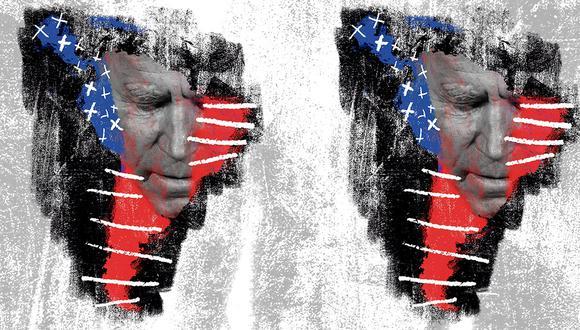 """""""En otra época, en Estados Unidos, un gobierno demócrata de centro habría intentado dinamizar las economías y buscar formas de proteger la democracia"""". (Ilustración: Giovanni Tazza)"""