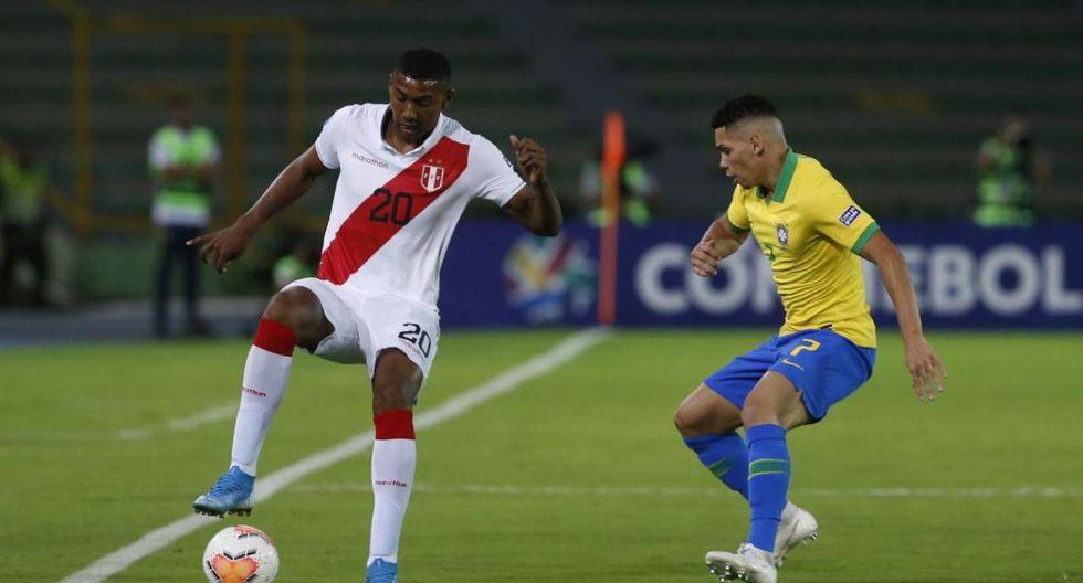Las postales del Perú vs. Brasil en el Preolímpico Sub 23. (Foto: Violeta Ayasta - GEC)