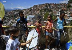 Petare, la mayor barriada de Venezuela, celebra sus 400 años con el vuelo de las cometas