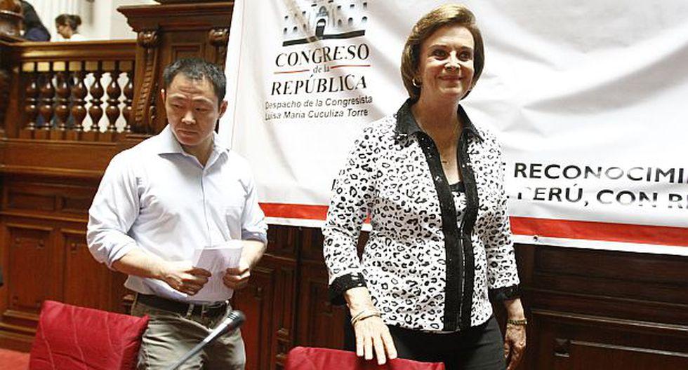 Kenji Fujimori volvió a criticar evaluación en Fuerza Popular