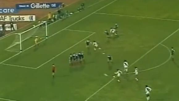 YouTube: el inolvidable golazo de Cubillas en el Perú vs. Escocia | VIDEO. (Foto: Captura de video)