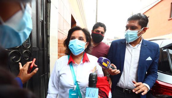 La candidata a la vicepresidencia de Perú Libre dijo esto a pesar de las versiones que ha tenido Pedro Castillo. (Foto: El Comercio)