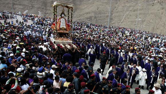 Un muerto en la peregrinación de la Virgen de Chapi
