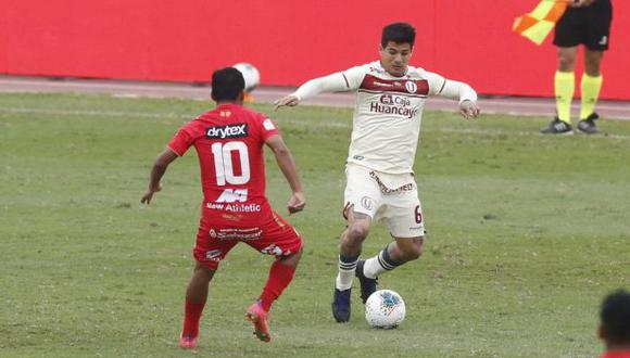 Universitario de Deportes se impuso 3-1 a Sport Huancayo en la Liga 1. (Foto: GEC)