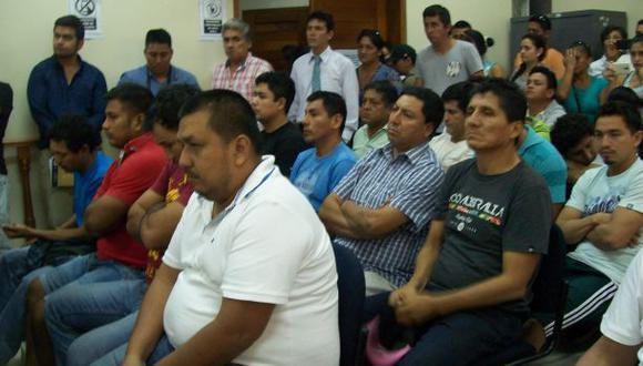 Ucayali: dictan prisión preventiva a 16 acusados de tala ilegal
