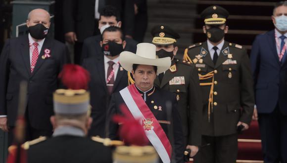 El presidente Pedro Castillo aún no ha confirmado ninguno de los nombres de los próximos ministros. (Foto: Leandro Britto/GEC)