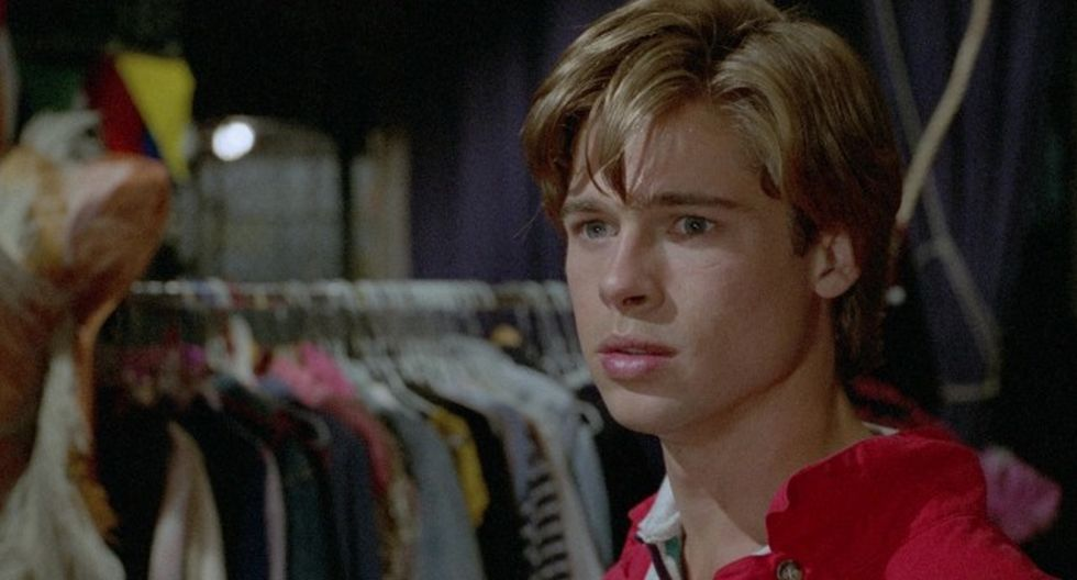 "Brad Pitt en el filme de terror ""Cutting Class"". (Foto: Difusión)"