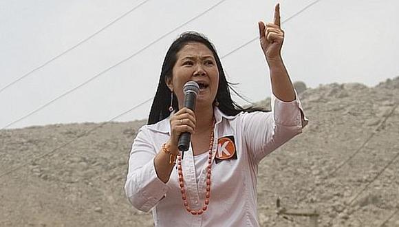 Keiko segunda, por Ricardo Vásquez Kunz