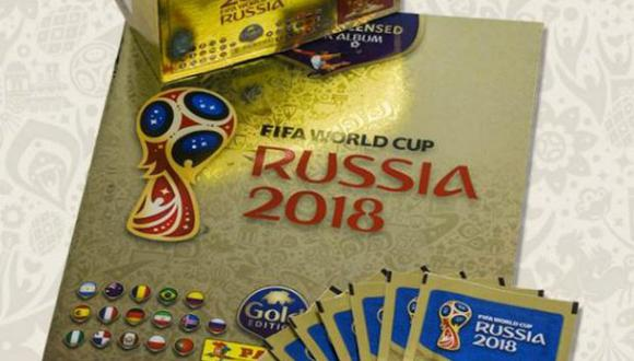 """""""Panini 2018 FIFA World Cup Russia TM - Gold Edition"""". (Foto: captura)"""