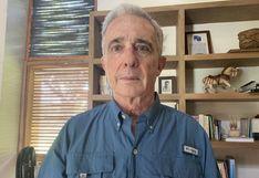 "Álvaro Uribe, expresidente de Colombia: ""Hoy fui reseñado como preso #1087985"""
