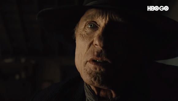 """Nuevo tráiler de """"Westworld"""" trae de regreso al Hombre de Negro (Ed Harris). (Fuente: YouTube)"""