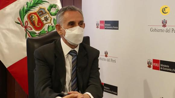 Interview with the Minister of Economy, Pedro Francke