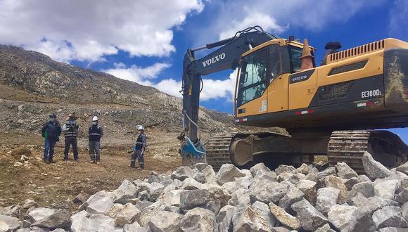 El próximo año seguirán con las construcciones de proyectos mineros. (Foto: GEC)