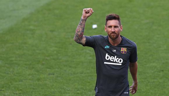 Lionel Messi relacionado con el Inter de Milán por expresidente del club italiano. (Foto: AFP)