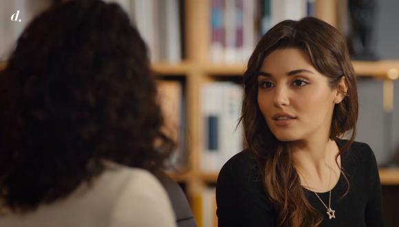 Eda y Balca pasan un tenso momento cara a cara durante una reunión con Serkan (Foto: Love Is in the Air / MF Yapım)