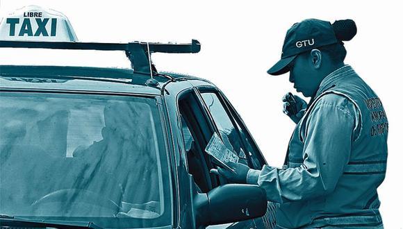 Son 13.643 conductores autorizados en Lima este año. (El Comercio)
