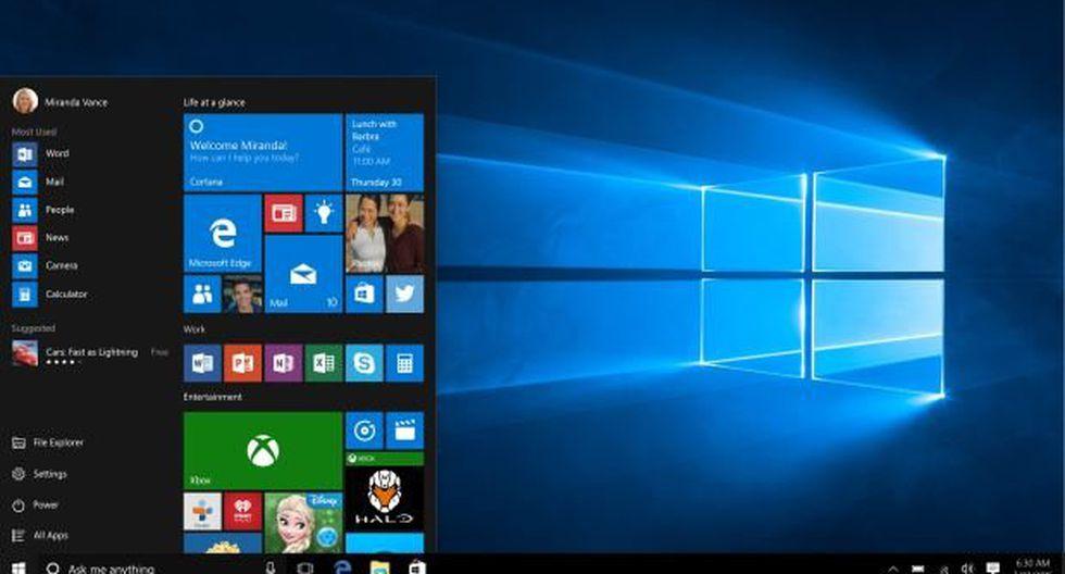 Windows 10: nueva actualización llegaría en noviembre