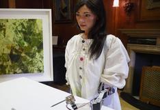 Ai-Da, el primer robot artista del mundo es presentado por la universidad de Oxford | FOTOS y VIDEO