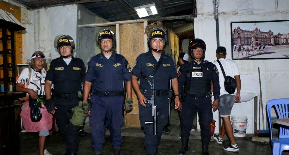 La Municipalidad de San Juan de Lurigancho, en conjunto con la Policía Nacional, realizó una megaoperación en diez bares que eran utilizados como prostíbulos clandestinos. (Foto: Municipalidad de SJL)