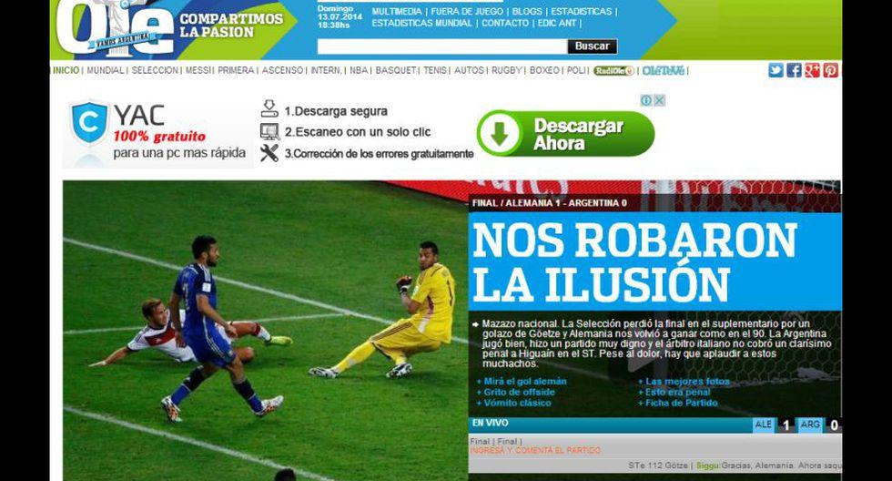 El dolor de Argentina en las portadas de sus diarios - 9
