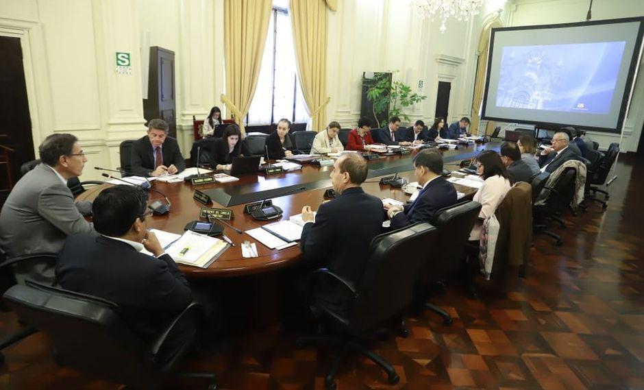 El decreto de urgencia para las elecciones al Congreso del próximo 26 de enero fue el único que se aprobó ayer en la sesión del Consejo de Ministros. (Foto: Presidencia)