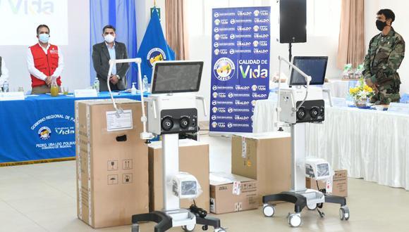 Pasco: siete ventilados mecánicos fueron entregados para hospitales regionales (Foto referencial).