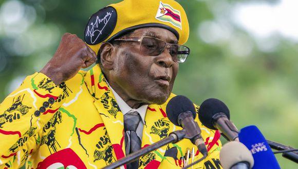 Muere Robert Mugabe, expresidente de Zimbabue. Foto: AFP