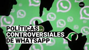 Las controversiales políticas de WhatsApp