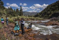 Así logró 'curar' su río la comunidad campesina Cordillera Blanca en Huaraz   FOTOS
