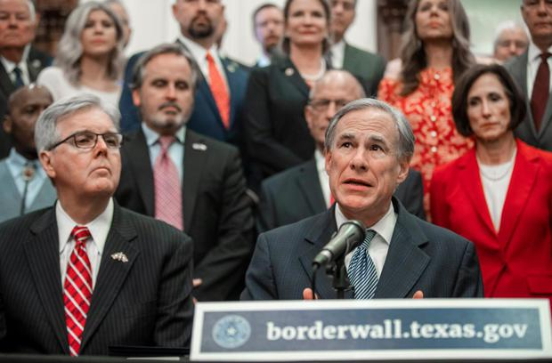 Governor Greg Abbott has launched a fundraising page from volunteers looking to fund the wall. To date, borderwall.texas.gov has raised nearly $ 500,000.