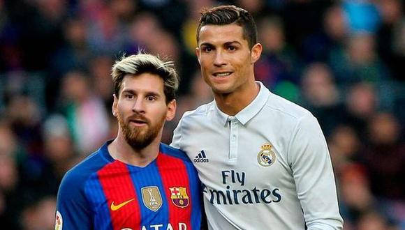 Lionel Messi y Cristiano Ronaldo se enfrentaron por última vez en mayo del 2018, por la liga española. (Foto: AFP)