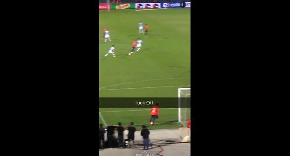 Snapchat vibró al ritmo del partido Chile vs. Argentina [FOTOS] - 6