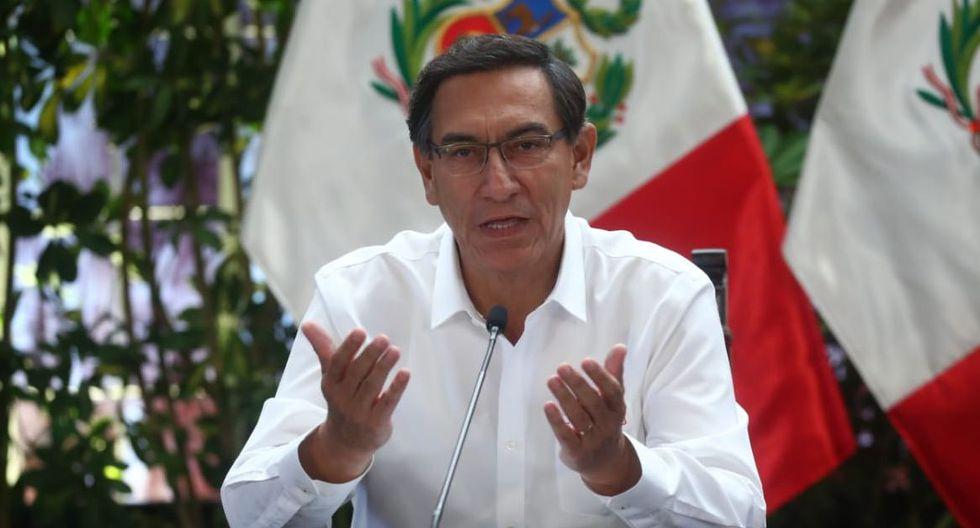 El presidente ofrecerá una conferencia para brindar detalles de las acciones dispuestas por el Ejecutivo. (Foto. GEC)