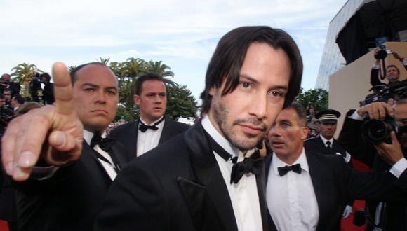 """El actor Keanu Reeves contó lo que sintió tras leer el guión de """"Matrix 4"""". (AFP)."""