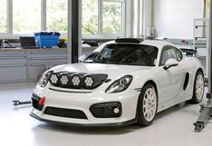 Porsche Cayman GT4 Clubsport Rally: listo para la competencia | FOTOS